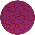 rug #400933 | round red check rug