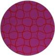 rug #400933 | round red circles rug