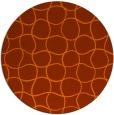 rug #400938   round check rug