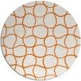 rug #400950 | round check rug