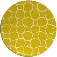 rug #400957 | round white check rug