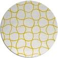 rug #400981 | round yellow circles rug
