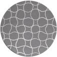 rug #400984 | round check rug