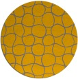 rug #400996   round check rug