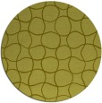 rug #401001 | round light-green circles rug