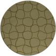 rug #401013   round light-green circles rug