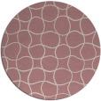 rug #401022   round check rug