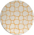 rug #401029 | round white check rug
