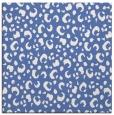 rug #401425   square blue animal rug
