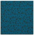 rug #401465   square blue-green animal rug