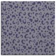 rug #401473 | square blue-violet animal rug