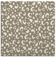 rug #401525 | square white animal rug