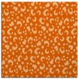 rug #401645 | square red-orange animal rug