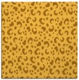 rug #401689 | square light-orange animal rug