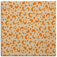 rug #401701 | square orange animal rug
