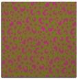 rug #401713   square light-green animal rug