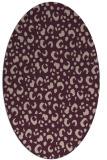 rug #401894 | oval animal rug