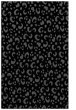 rug #402097 |  black animal rug