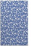 rug #402129    blue animal rug