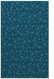 rug #402137 |  blue-green animal rug