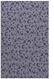 rug #402177 |  blue-violet animal rug