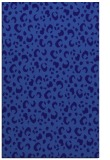 rug #402193    blue-violet animal rug