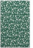 rug #402221 |  blue-green animal rug