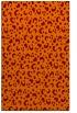 rug #402277 |  red-orange animal rug