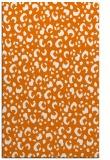 rug #402281 |  orange animal rug