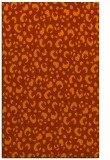 rug #402345 |  red-orange animal rug