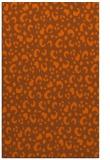 rug #402353 |  red-orange animal rug