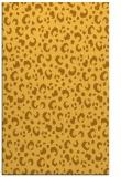 rug #402393 |  light-orange animal rug