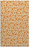 rug #402405    orange animal rug