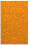 rug #402433 |  light-orange animal rug
