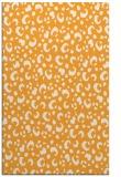 rug #402437    light-orange animal rug