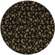 rug #402461 | round mid-brown popular rug