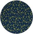 rug #402477   round blue rug