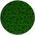 rug #402509 | round green animal rug