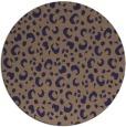rug #402550 | round animal rug
