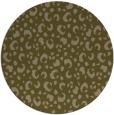 rug #402561 | round brown rug