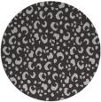 rug #402641 | round orange animal rug