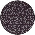 rug #402677 | round purple animal rug