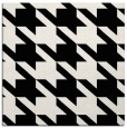 rug #404909 | square white retro rug
