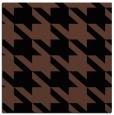 rug #404921 | square brown retro rug