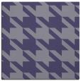 rug #404993 | square blue-violet retro rug