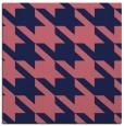 rug #404997 | square blue-violet retro rug