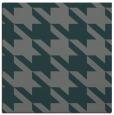 rug #405033 | square green retro rug