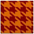 rug #405093 | square orange popular rug