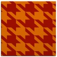 rug #405149 | square orange retro rug
