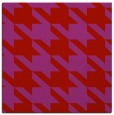 rug #405157 | square red retro rug